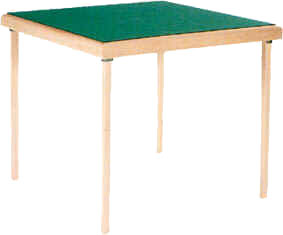Table de bridge confort adelie bridge club - Table de bridge pliante ...